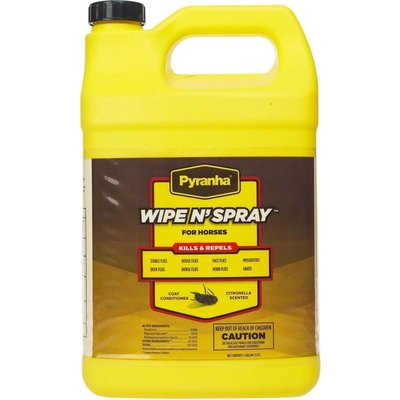 Pyranha Wipe N Spray Gallon