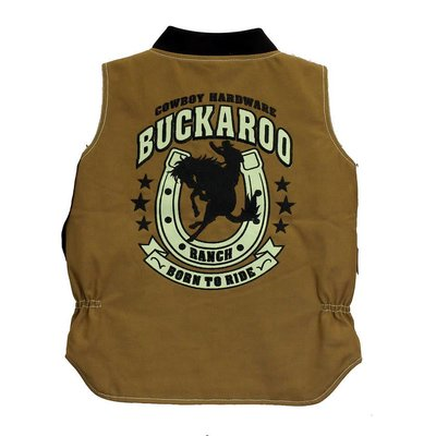 Cowboy Hardware Youth Buckaroo Vest