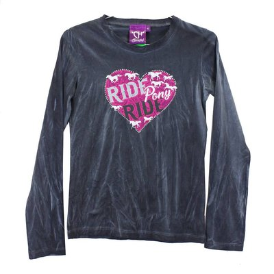 Cowboy Hardware Youth Ride Pony Ride LS Tee
