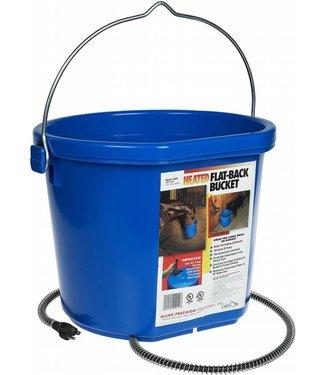 Heated Flatback Bucket 5gal