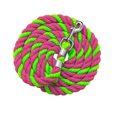 Bright Colored Cotton Lead 6'
