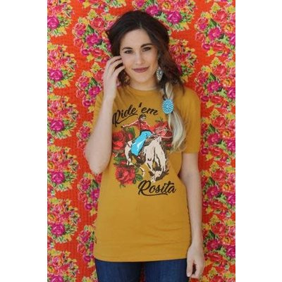 Rodeo Quincy Ride 'Em Rosita T-Shirt