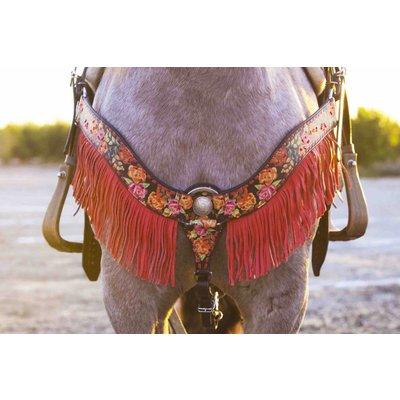 Rodeo Quincy Bonita Brooke Fringe Breast Collar