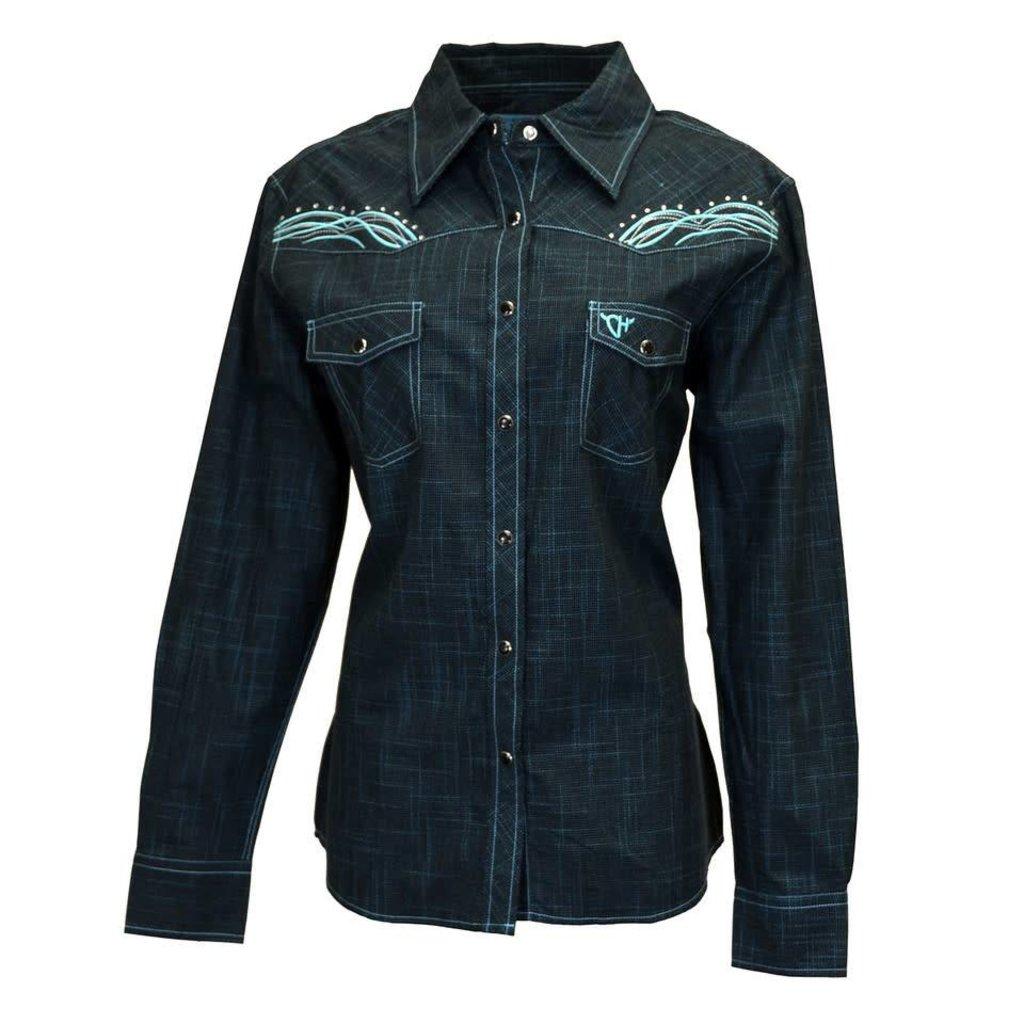 16f927f4 Cowboy Hardware Women's Burlap Print Shirt