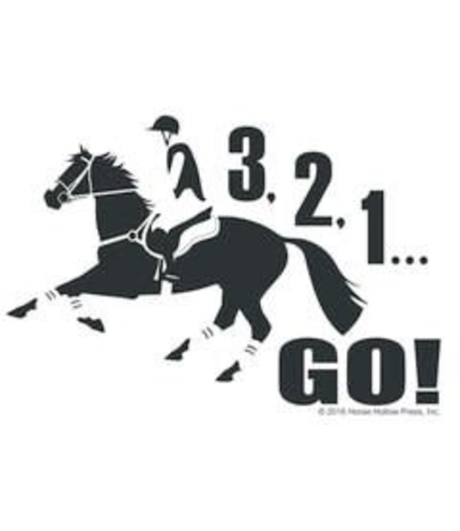 Horse Hollow Window Sticker