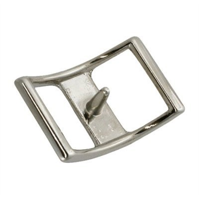"""Conway Buckle 3/4"""" Nickle Plate"""
