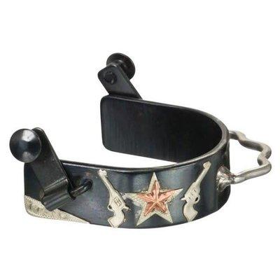 Bumper Spurs w/Pistol Motive