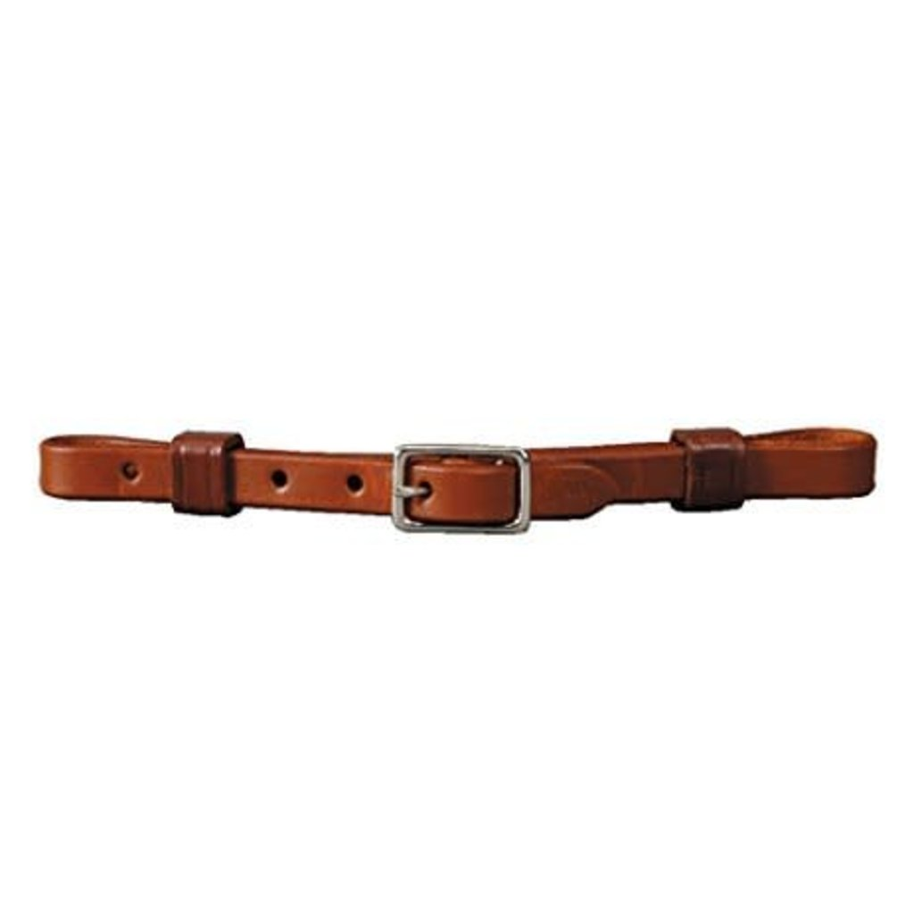 "Colorado 1/2"" Leather Curb Strap"