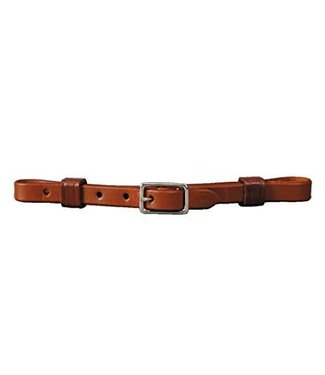 "Colorado 1/2"" Leather Curb Strap"
