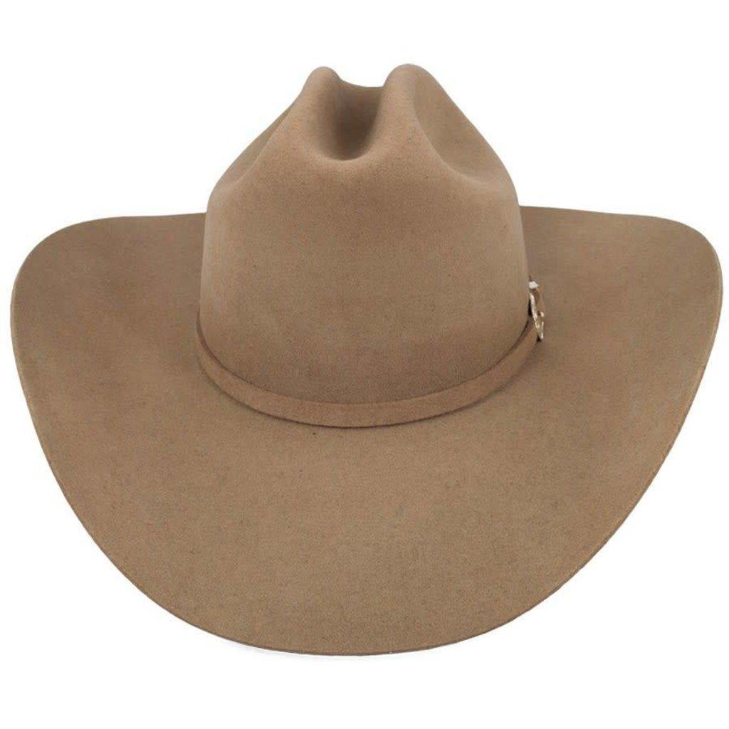0fa5bd89 Stetson Oak Ridge Felt Cowboy Hat, Black 3X - Diamond Royal Tack