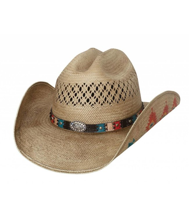 Bullhide Custer Trail Straw Hat