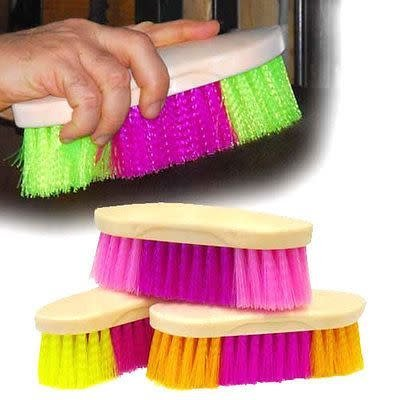 Poly Rainbow Body Brush Assorted