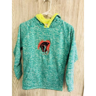 Diamond Royal Tack Youth Neon Tribal Horse Hoodie