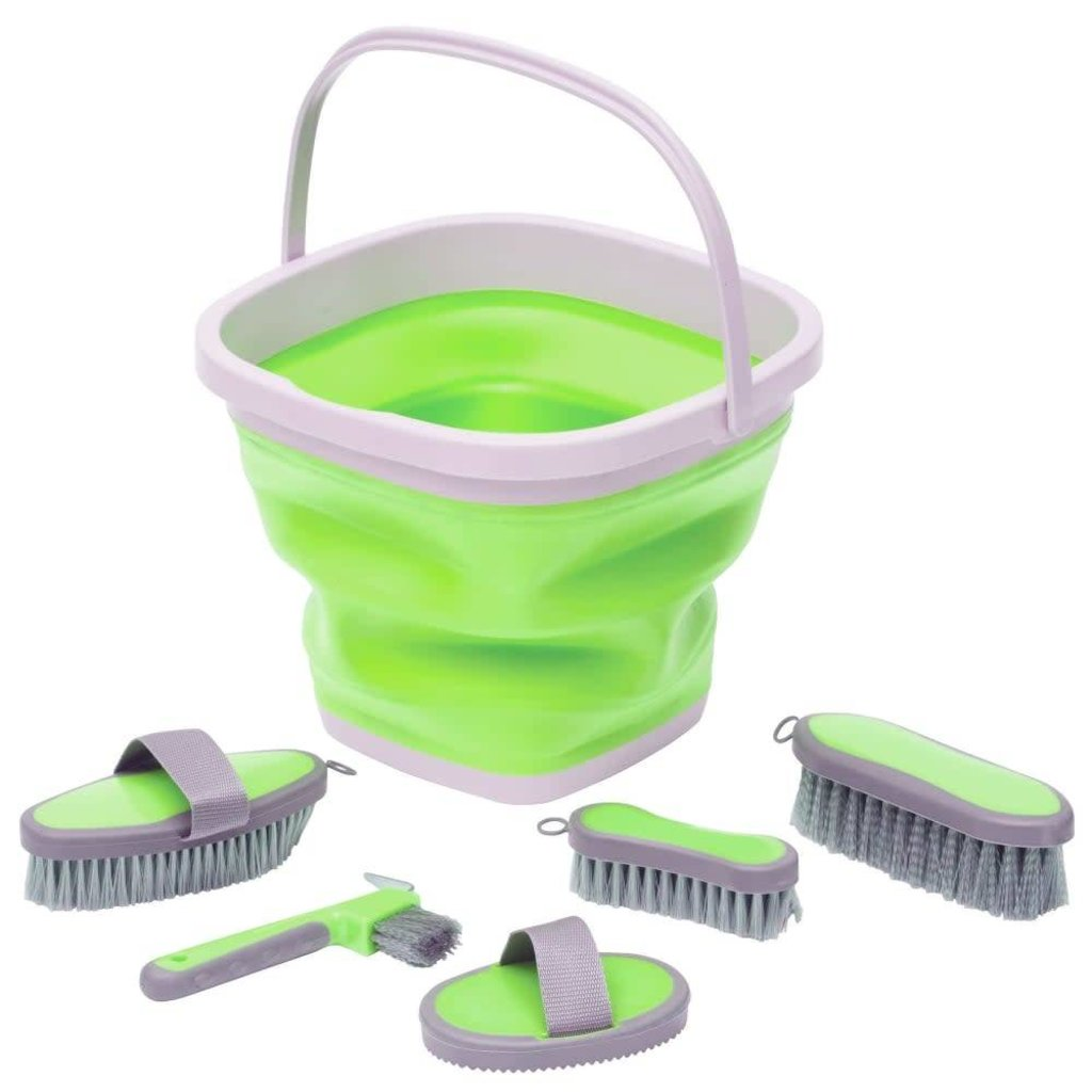 Professional's Choice Grooming Kit with Collapsible Bucket