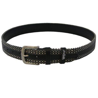 WOW Equestrian Belt Woven Black/Grey
