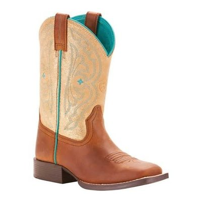 Ariat Youth Quickdraw Distressed Brown