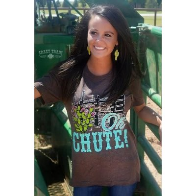Crazy Train Clothing Oh Chute Tee