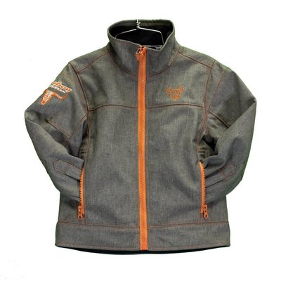 Cowboy Hardware Youth Woodsman Jacket, Brown Heather
