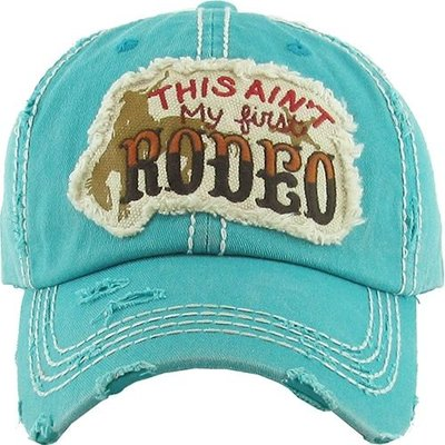 This Ain't My First Rodeo Cap