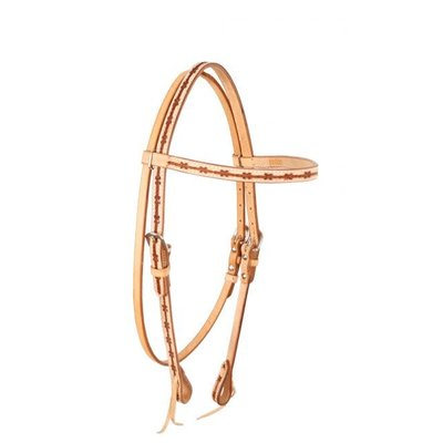 Barbwire Tooling Headstall
