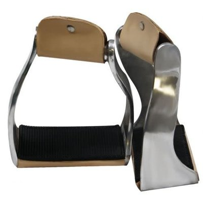 Showman Aluminum Wide Grip Stirrup