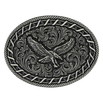 Montana Silversmith Attitudes Buckle Buckstitch Eagle