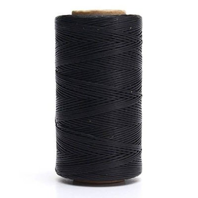 Tandy Waxed Poly Sewing Thread Black