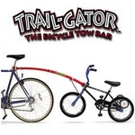 Trail-Gator Trail-Gator Bicycle Tow Bar Black