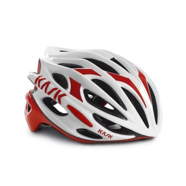 Kask Mojito Helmet White/Red