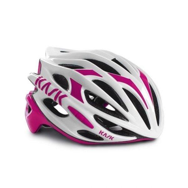 Kask Mojito Helmet White/Fuchsia