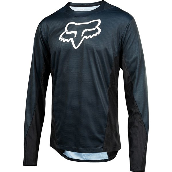 FOX FOX Demo Long Sleeve Camo Burn Jersey Black