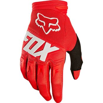 FOX FOX Youth Dirtpaw Race Gloves (2019) Red