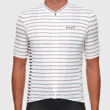 MAAP MAAP Movement Team Jersey White/Mulberry