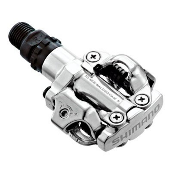Shimano PD-M520 SPD PEDALS SILVER
