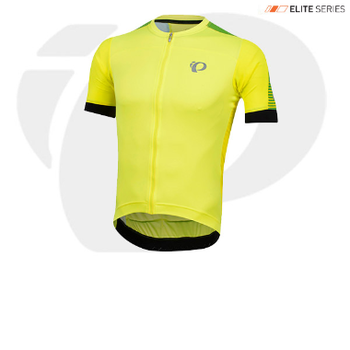 Pearl Izumi JERSEY - ELITE PURSUIT SPEED SCREAMING YELLOW DIFUSE