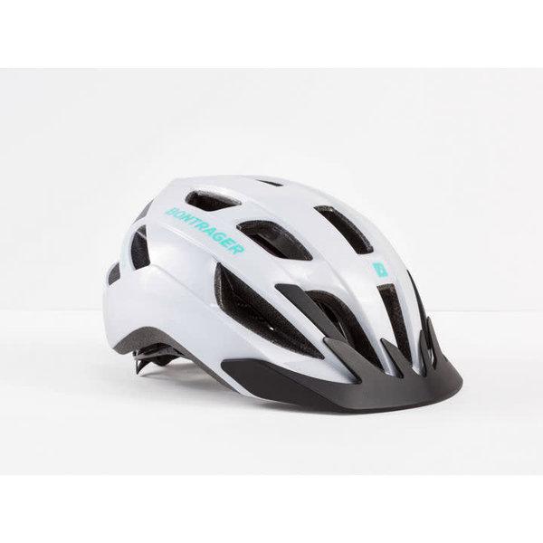 Bontrager Solstice Helmet Trek White/Miami Green