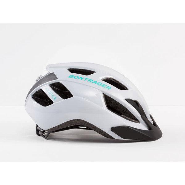 Bontrager Bontrager Solstice Helmet Trek White/Miami Green