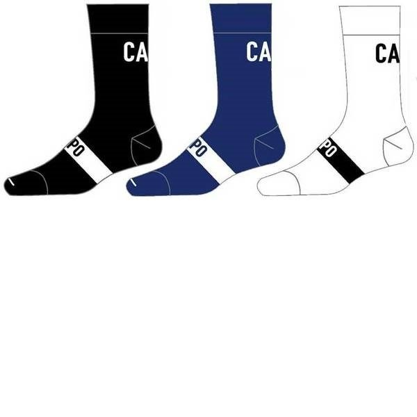 Capo Active Compression Classica 15cm Socks White