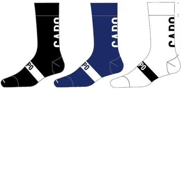 Capo Active Compression Euro 15cm Socks White