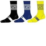 Capo Capo Active Compression City 15cm Socks Yellow
