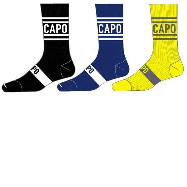 Capo Capo Active Compression City 15cm Socks Navy