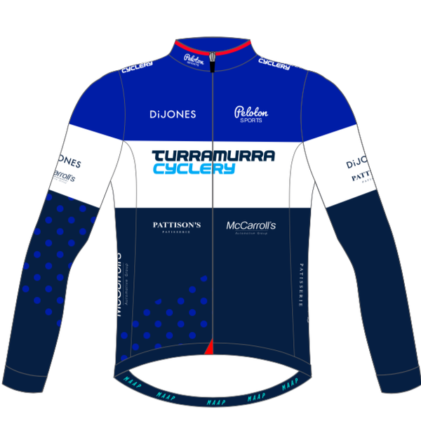 MAAP MAAP Peloton Sports Long Sleeve Winter Jersey