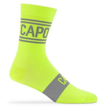 Capo Capo Active Compression City 15cm Socks Yellow