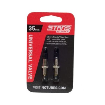 Stan's Stan's NoTubes 35mm Universal Valve Stem (Carded Pair)