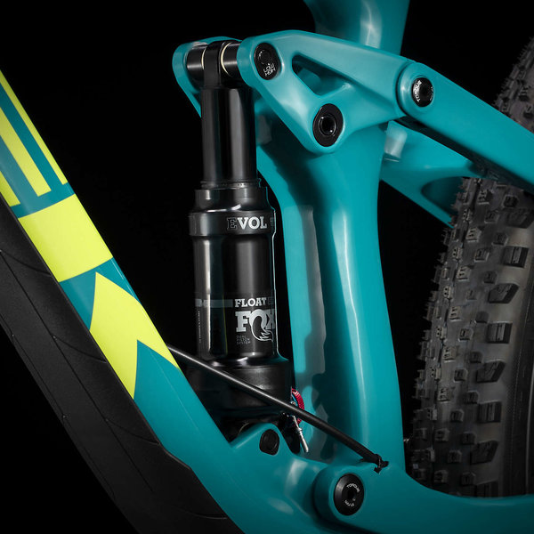 Trek Trek Top Fuel 9.8 GX (2020) Trek Black to Teal Fade
