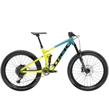 Trek Trek Remedy 8 27.5 (2020) Teal to Volt Fade