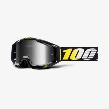 100% 100% RACECRAFT Goggles Cosmos 99 - Mirror Silver Lens