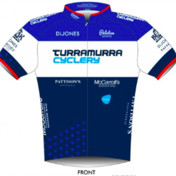 Cannibal Cannibal Peloton Sports Mens Race Jersey