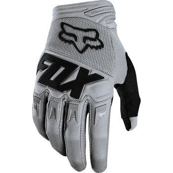 FOX FOX Youth Dirtpaw Race Gloves Grey