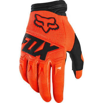 FOX FOX Youth Dirtpaw Race Gloves Flo Orange